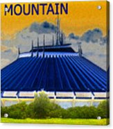 Space Mountain Acrylic Print