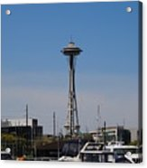 Space Needle From The Harbor Acrylic Print