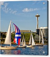 Space Needle Seattle Acrylic Print