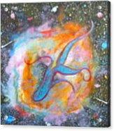 Space Ocean Acrylic Print