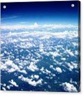 Space Of Cloudz Acrylic Print
