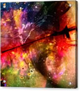 Space Pirate Emerges Acrylic Print
