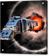 Space Pirates Acrylic Print