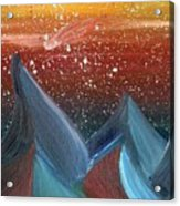 Space Scape Acrylic Print