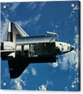 Space Shuttle Challenger Acrylic Print