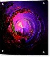 Space Spiral Acrylic Print