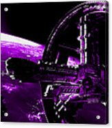 Space Station Acrylic Print