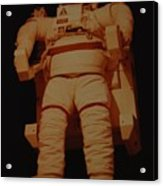 Space Suit Acrylic Print
