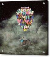 Space Travel Acrylic Print