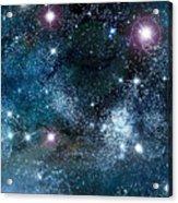 Space003 Acrylic Print by Svetlana Sewell