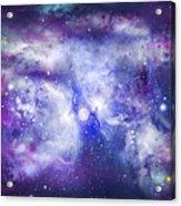 Space009 Acrylic Print by Svetlana Sewell