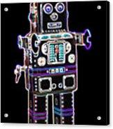 Spaceman Robot Acrylic Print