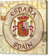 Spain Coat Of Arms Acrylic Print by Debbie DeWitt