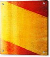 Spain Flag Acrylic Print by Setsiri Silapasuwanchai