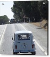 Spain Highway II Towards Seville Acrylic Print