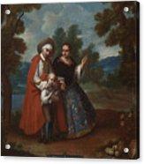 Spaniard And Morsica Acrylic Print