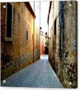 Spanish Alley Acrylic Print