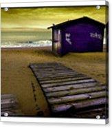 Spanish Beach Hut Acrylic Print