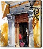 Spanish Colonial Portal Acrylic Print