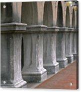 Spanish Columns Acrylic Print