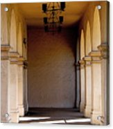 Spanish Corridor Acrylic Print