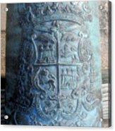 Spanish Crest 1764 Acrylic Print