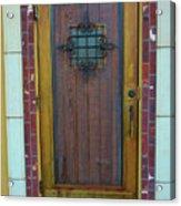 Spanish Door Acrylic Print