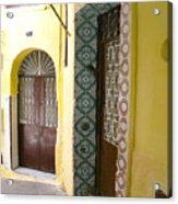 Spanish Doors Acrylic Print