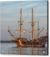 Spanish Galleon Acrylic Print