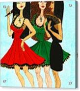 Spanish Girls Acrylic Print