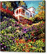Spanish House Acrylic Print by David Lloyd Glover