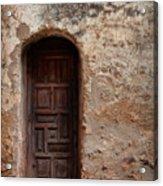 Spanish Mission Doorway Acrylic Print