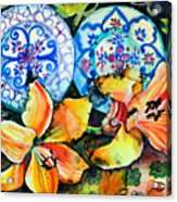 Spanish Plates Acrylic Print