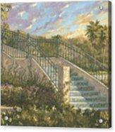 Spanish Steps Acrylic Print