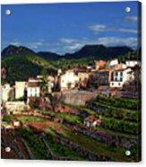 Spanish Terraces Acrylic Print