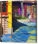 Spanish Village Acrylic Print