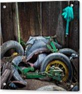 Spare Tires A-plenty Acrylic Print