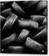 Spare Tires Acrylic Print by Margherita Wohletz