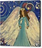 Sparkle Angel Acrylic Print