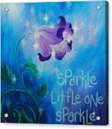 Sparkle, Little One Acrylic Print