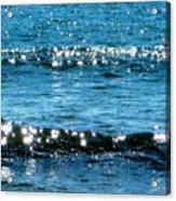 Sparkle Waves  Acrylic Print