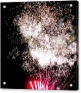 Sparkles Fireworks Acrylic Print