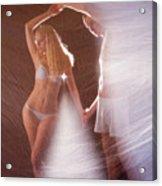 Sparkling Dance Acrylic Print