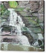 Sparkling Falls Acrylic Print