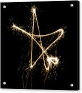 Sparkling Star Acrylic Print