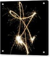 Sparkling Star II Acrylic Print