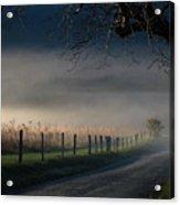Sparks Lane Sunrise Lr3 Edition Acrylic Print