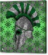 Spartan Helmet Acrylic Print