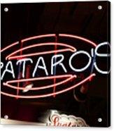 Spataros Acrylic Print