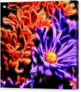 Spatial Glow Acrylic Print
